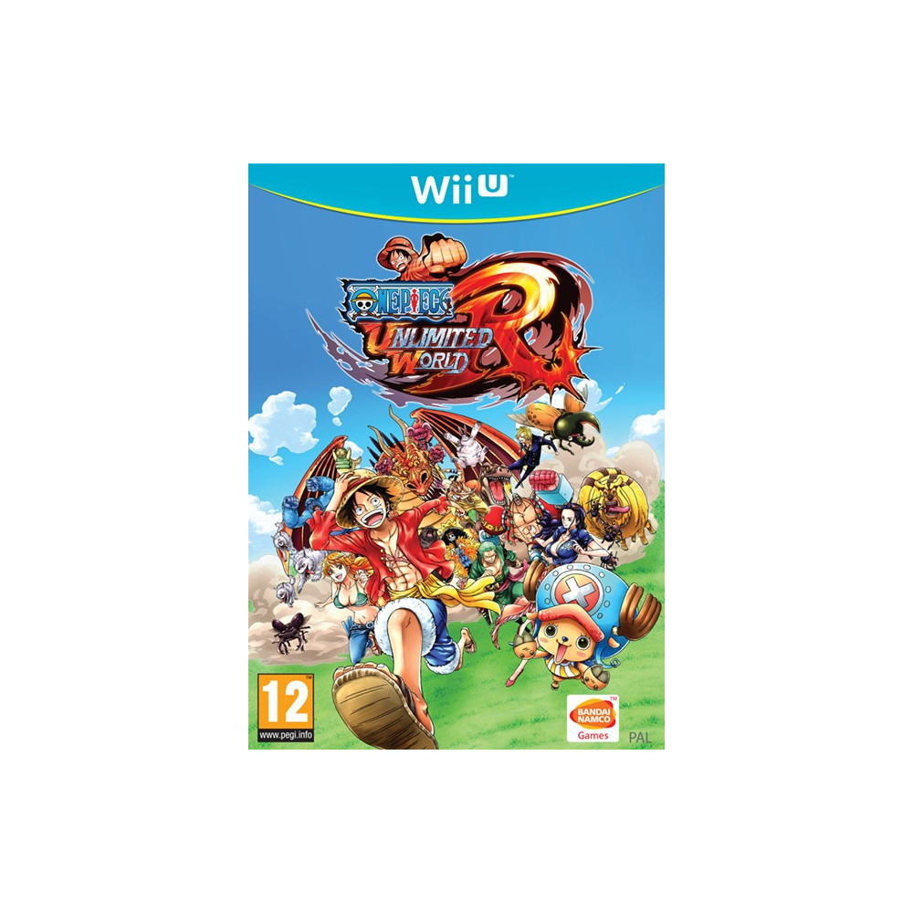 ONE PIECE UNLIMITED WORLD R WIIU PAL-FRA OCCASION