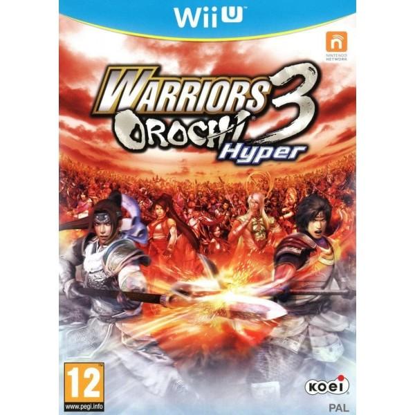 WARRIORS OROCHI 3 HYPER WII U PAL FR OCCASION