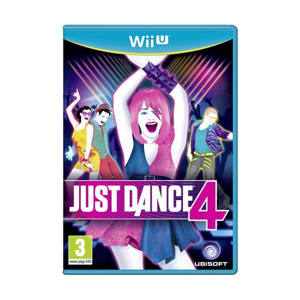 JUST DANCE 4 WIIU PAL-UK OCCASION