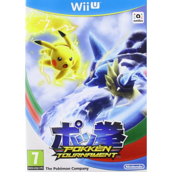 POKKEN TOURNAMENT WIIU PAL-UK OCCASION