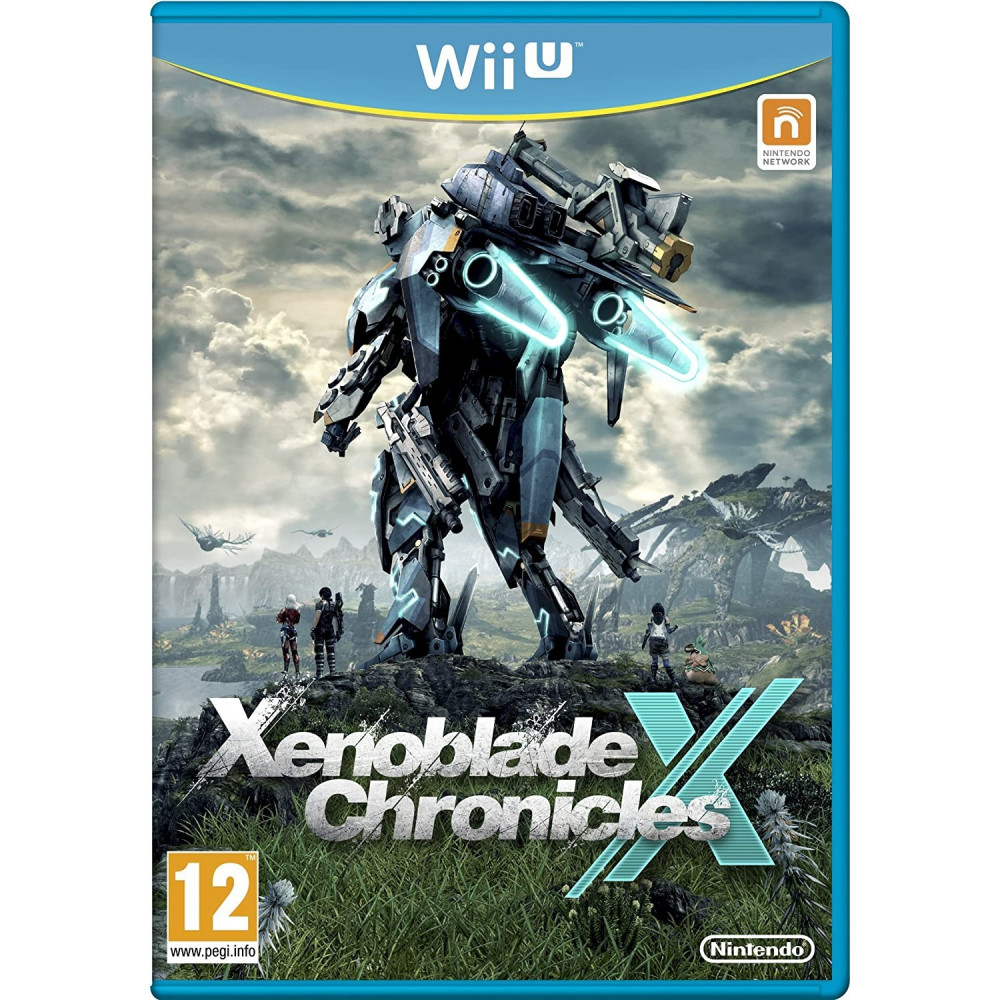 XENOBLADE CHRONICLES X WIIU PAL-UK OCCASION