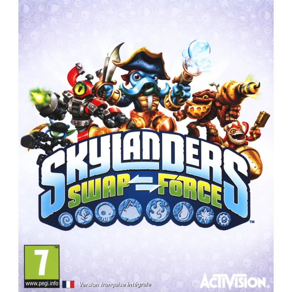 SKYLANDERS SWAP FORCE WIIU PAL-UK OCCASION (BUNDLE COPY)