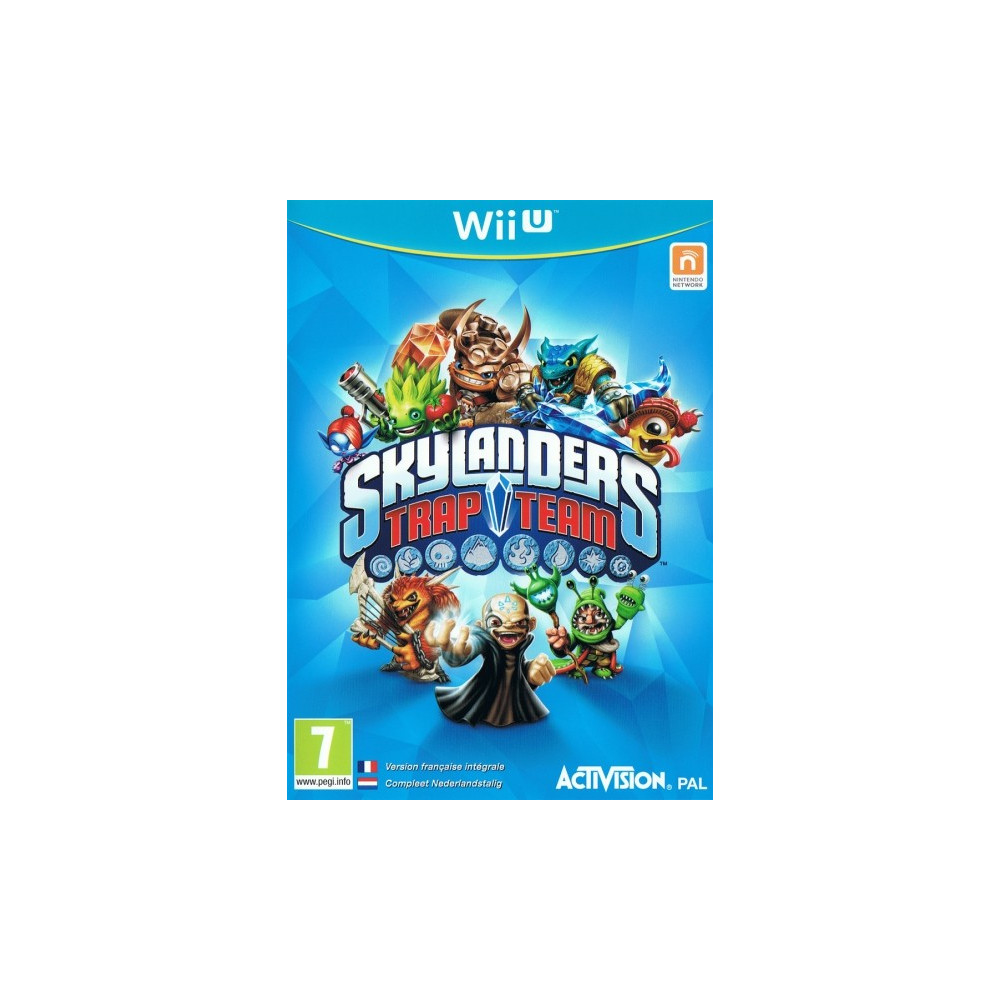 SKYLANDERS TRAP TEAM WIIU PAL-EURO OCCASION