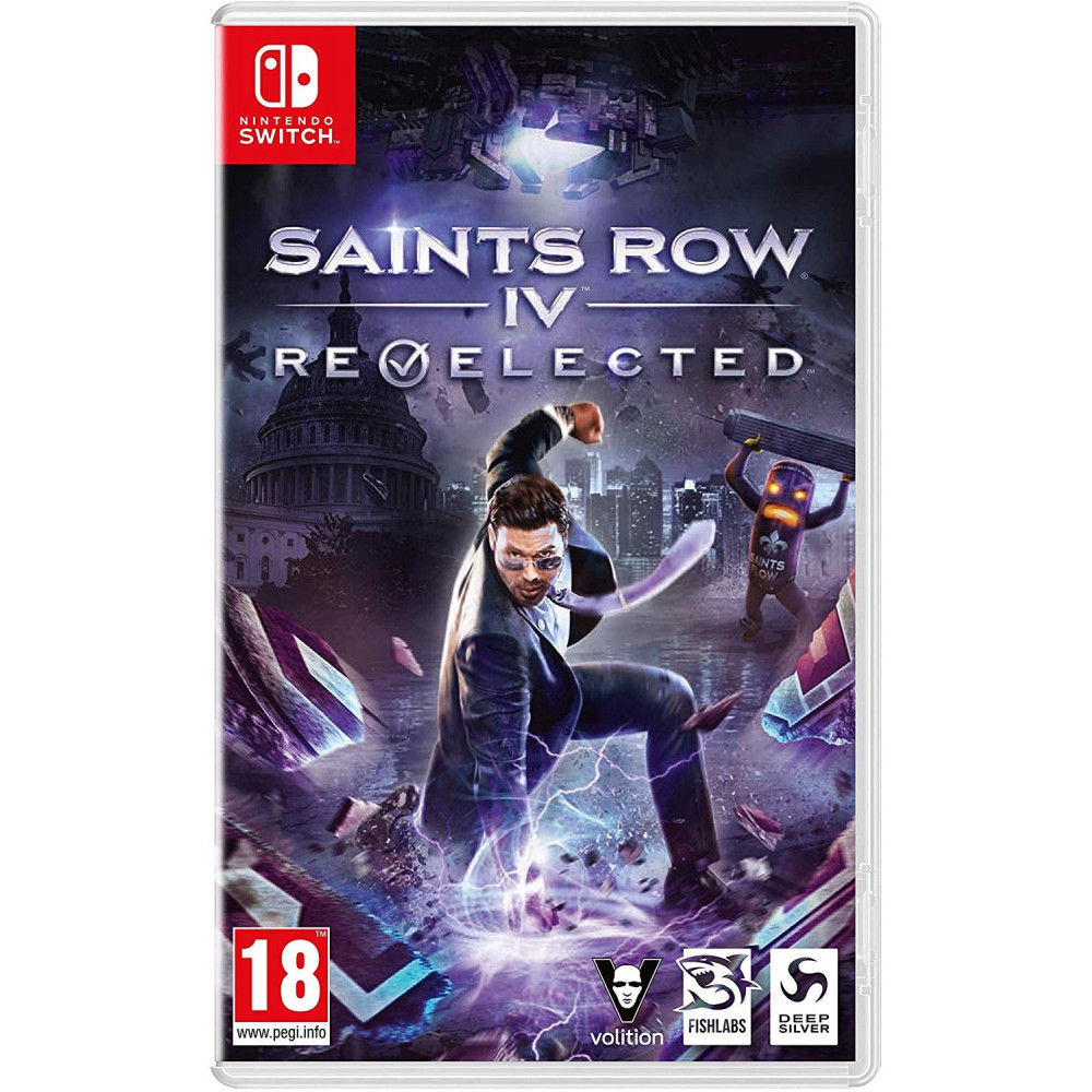SAINTS ROW IV RE-ELECTED SWITCH FR OCCASION