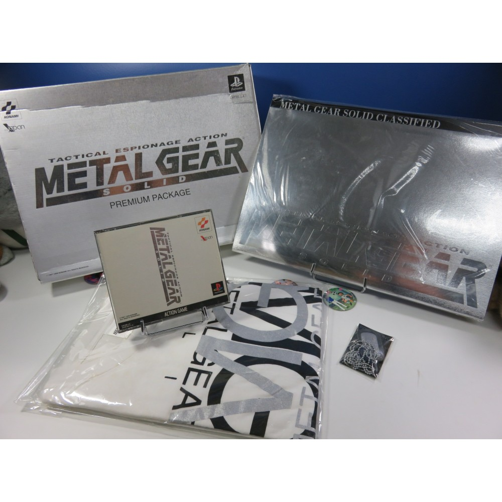 METAL GEAR SOLID PREMIUM PACKAGE PS1 NTSC-JPN OCCASION (SANS OST) KONAMI 1998