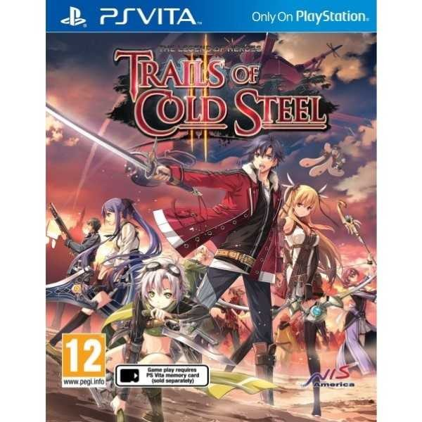 THE LEGEND OF HEROES TRAILS OF COLD STEEL II PSVITA EURO FR NEW