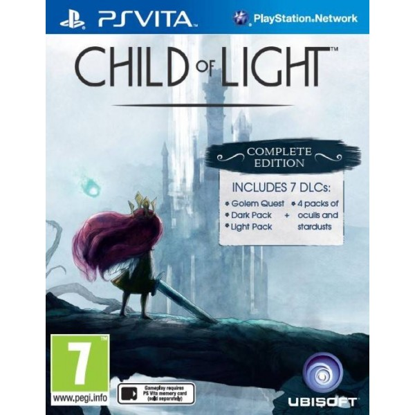 CHILD OF LIGHT PSVITA EURO FR OCCASION