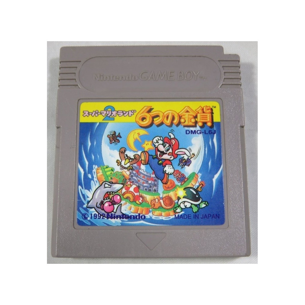 SUPER MARIO LAND 2 GAMEBOY JPN LOOSE