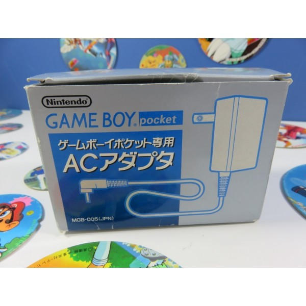 GAME BOY POCKET NINTENDO OFFICIAL AC ADAPTOR (ALIMENTATION) NTSC-JPN BON ETAT -MGB-005(JPN) 1997