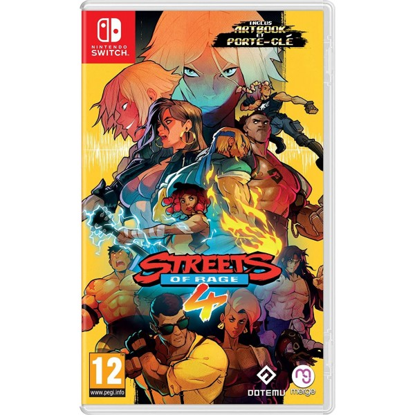 STREETS OF RAGE 4 SWITCH FR PREORDER (Bare Knuckle IV)