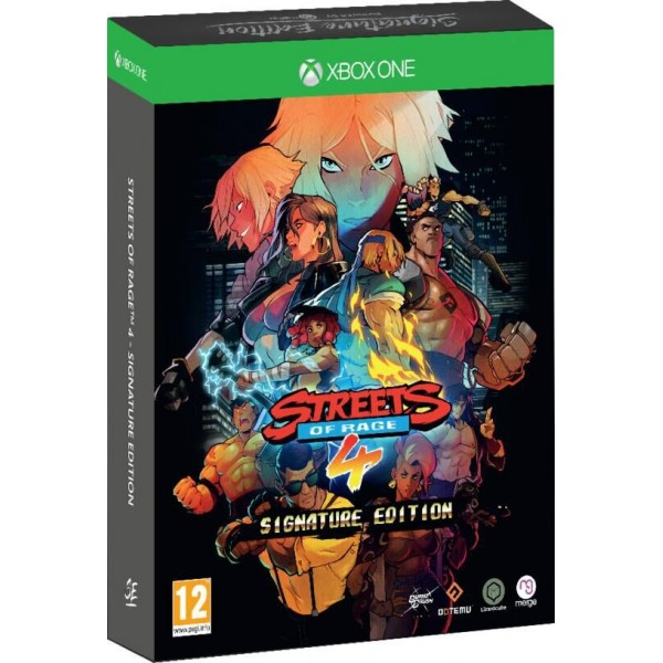 STREETS OF RAGE 4 SIGNATURE EDITION XBOX ONE FR NEW (BARE KNUCKLE IV)