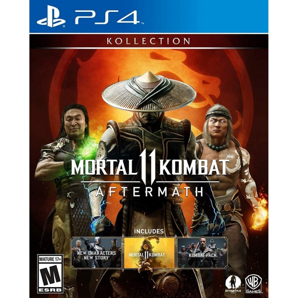 MORTAL KOMBAT XI AFTERMATH KOLLECTION PS4 US NEW
