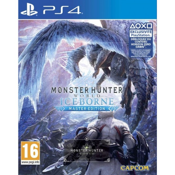 MONSTER HUNTER WORLD ICEBORNE MASTER EDITION PS4 EURO FR NEW