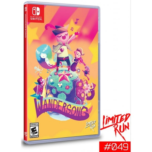 WANDERSONG SWITCH US NEW(LIMITED RUN COLLECTION)