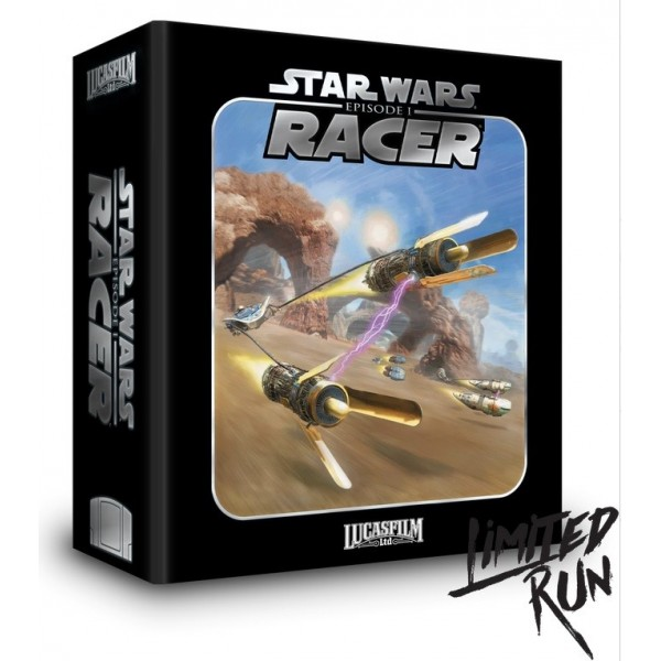 STAR WARS EPISODE 1 RACER PREMIUM EDITION N64 US NEW(LIMITED RUN COLLECTION)