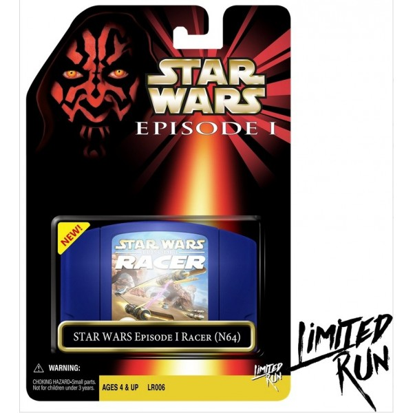 STAR WARS EPISODE 1 RACER CLASSIC EDITION N64 US NEW(LIMITED RUN COLLECTION)
