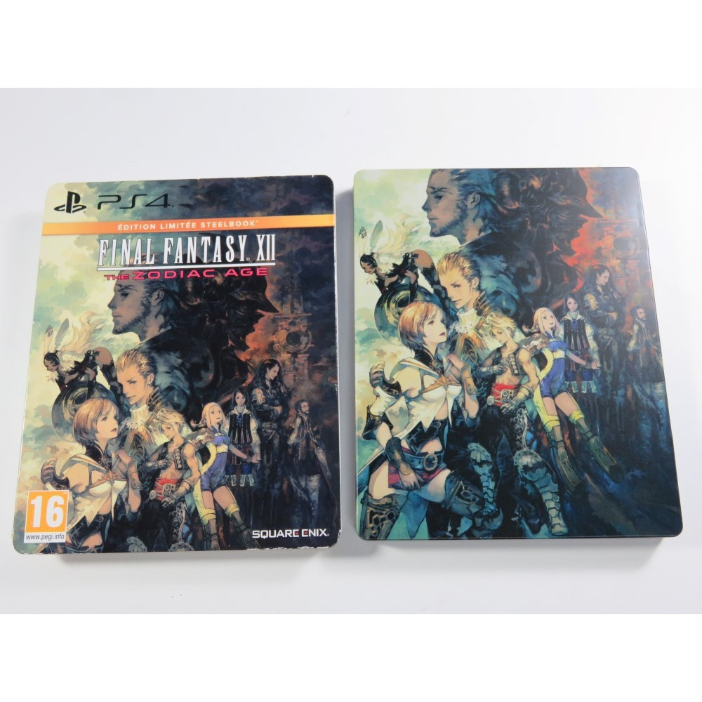 FINAL FANTASY XII THE ZODIAC AGE STEELBOOK PS4 FR OCCASION