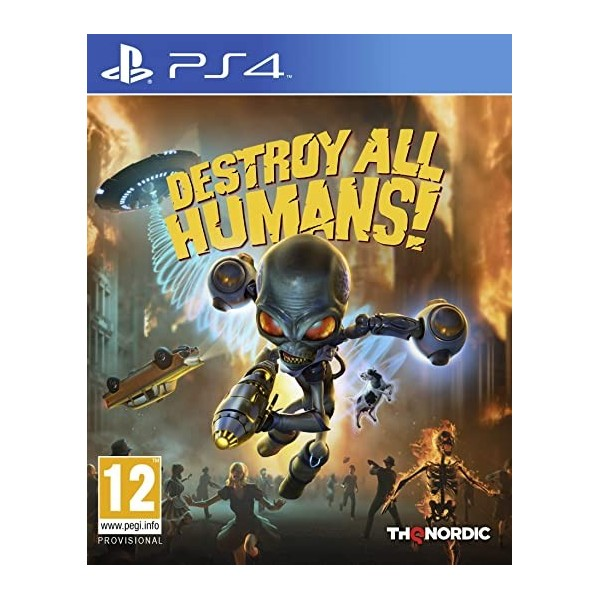 DESTROY ALL HUMANS ! PS4 FR OCCASION