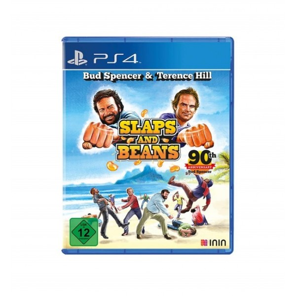 BUD SPENCER & TERENCE HILL SLAPS AND BEANS PS4 ALLEMAND OCCASION