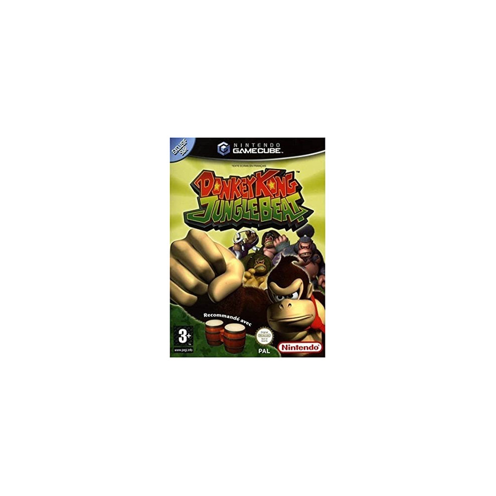 DONKEY KONG JUNGLE BEAT GAMECUBE PAL-FR OCCASION