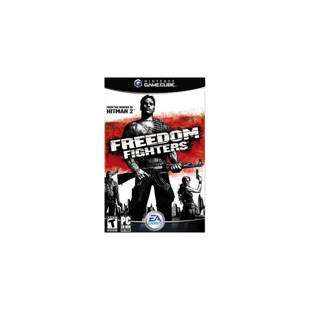 FREEDOM FIGHTERS GAMECUBE PAL-FRA OCCASION