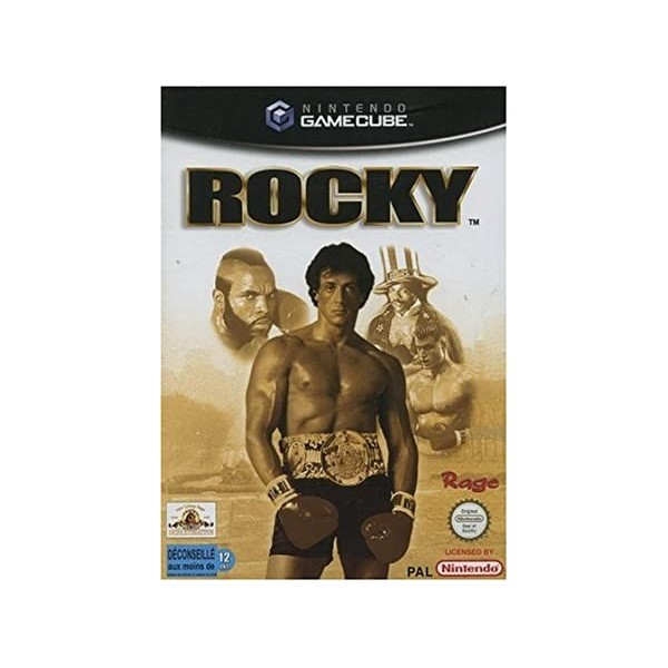 ROCKY GAMECUBE PAL-FRA OCCASION