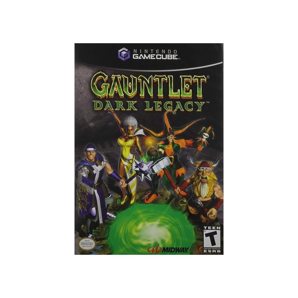 GAUNTLET DARK LEGACY GAMECUBE NTSC-USA OCCASION