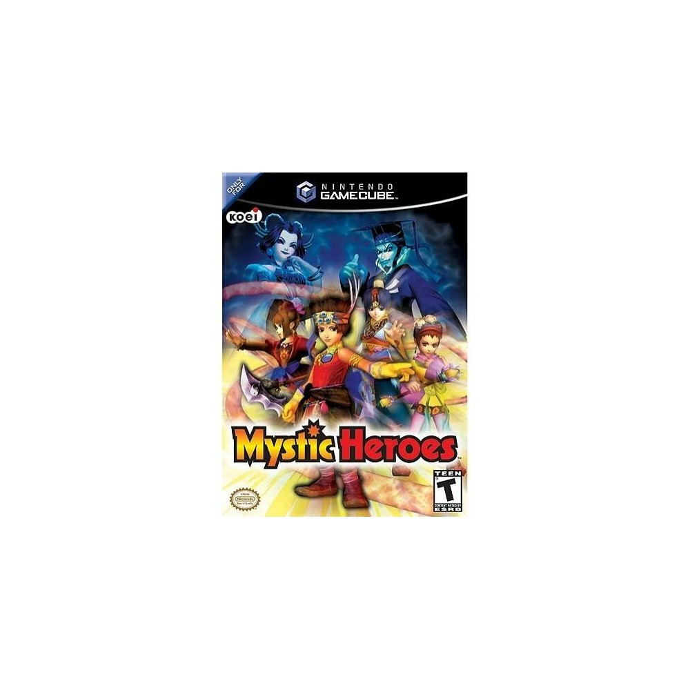 MYSTIC HEROES GAMECUBE NTSC-USA OCCASION