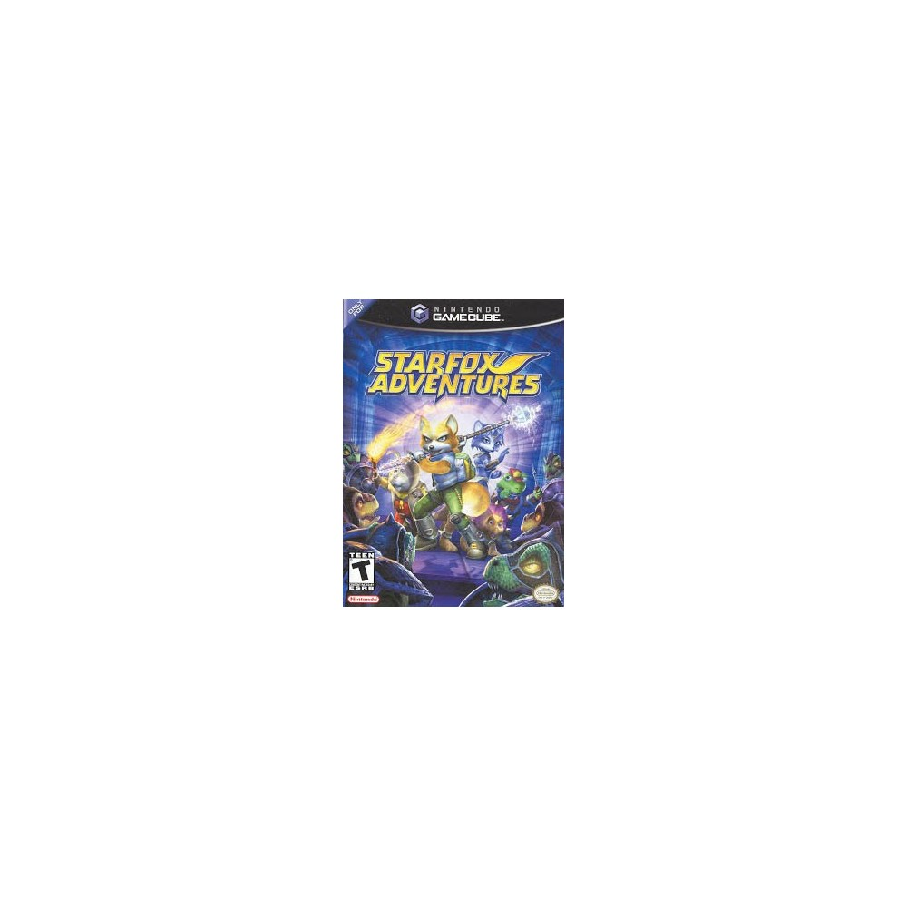 STARFOX ADVENTURES GAMECUBE NTSC-USA OCCASION