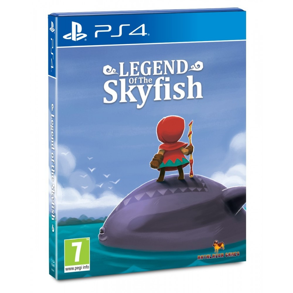 LEGEND OF THE SKYFISH PS4 FR NEW (FACTORY SEALED) RED ART GAMES COLLECTION