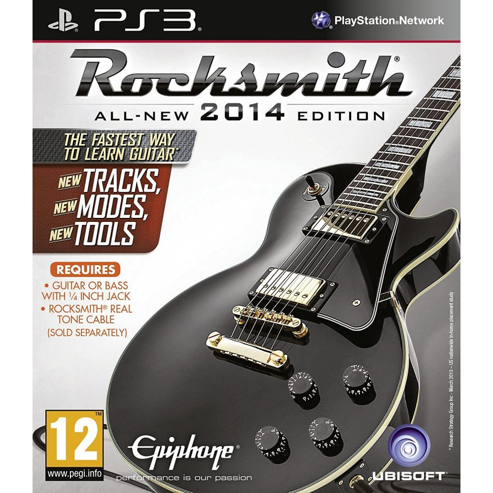 ROCKSMITH ALL-NEW 2014 EDITION PS3 FR OCCASION(JEU SEUL)