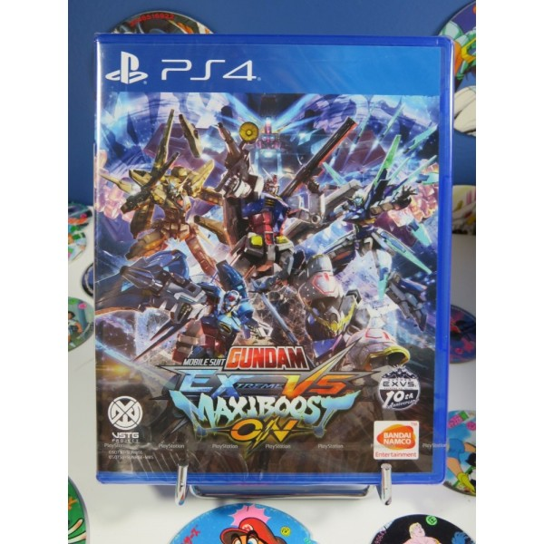 MOBILE SUIT GUNDAM: EXTREME VS. MAXIBOOST ON (ENGLISH SUBS) PS4 ASIAN NEW FACTORY SEALED