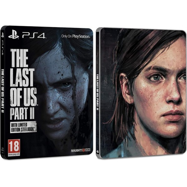 THE LAST OF US PART II STEELBOOK EDITION PS4 FR OCCASION