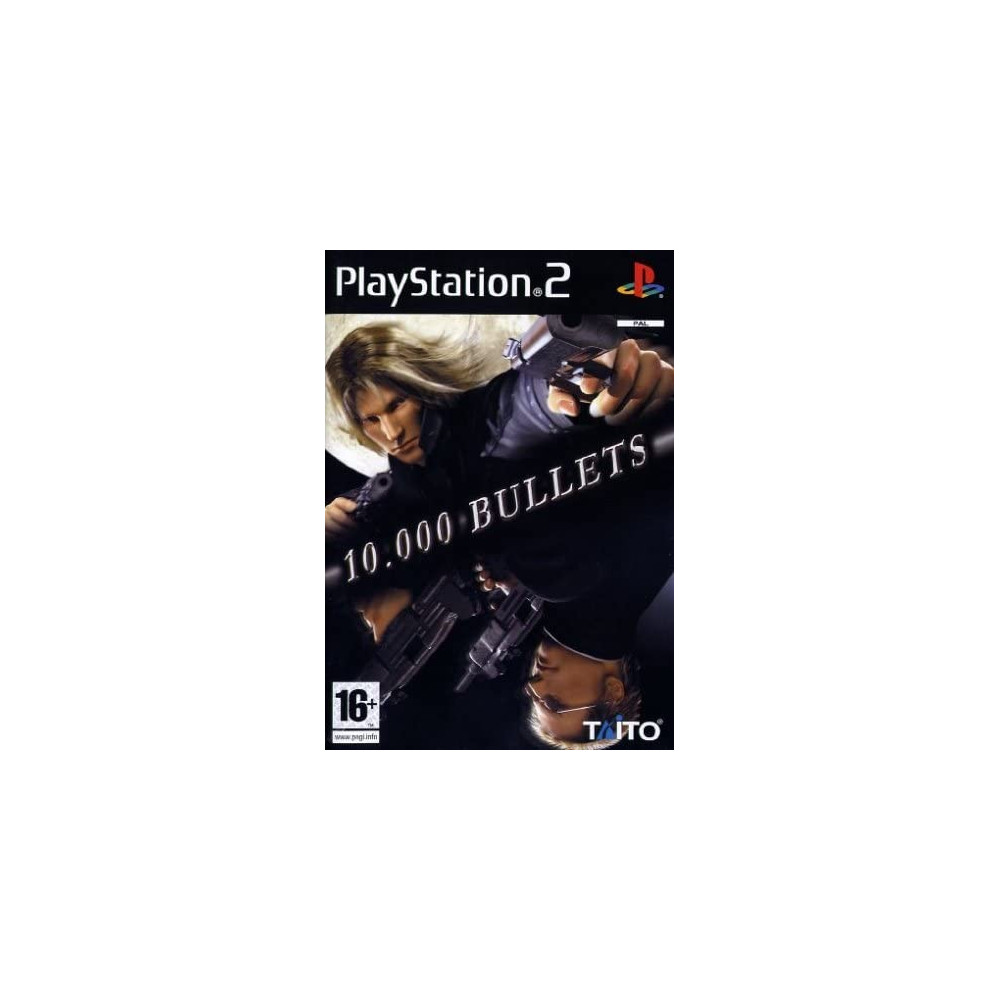10000 BULLETS PS2 PAL-FR OCCASION