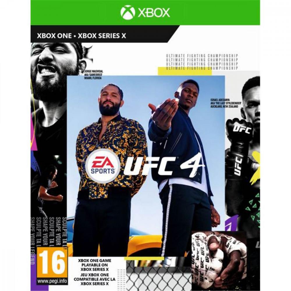 UFC 4 XBOX ONE PAL-EURO-FR OCCASION
