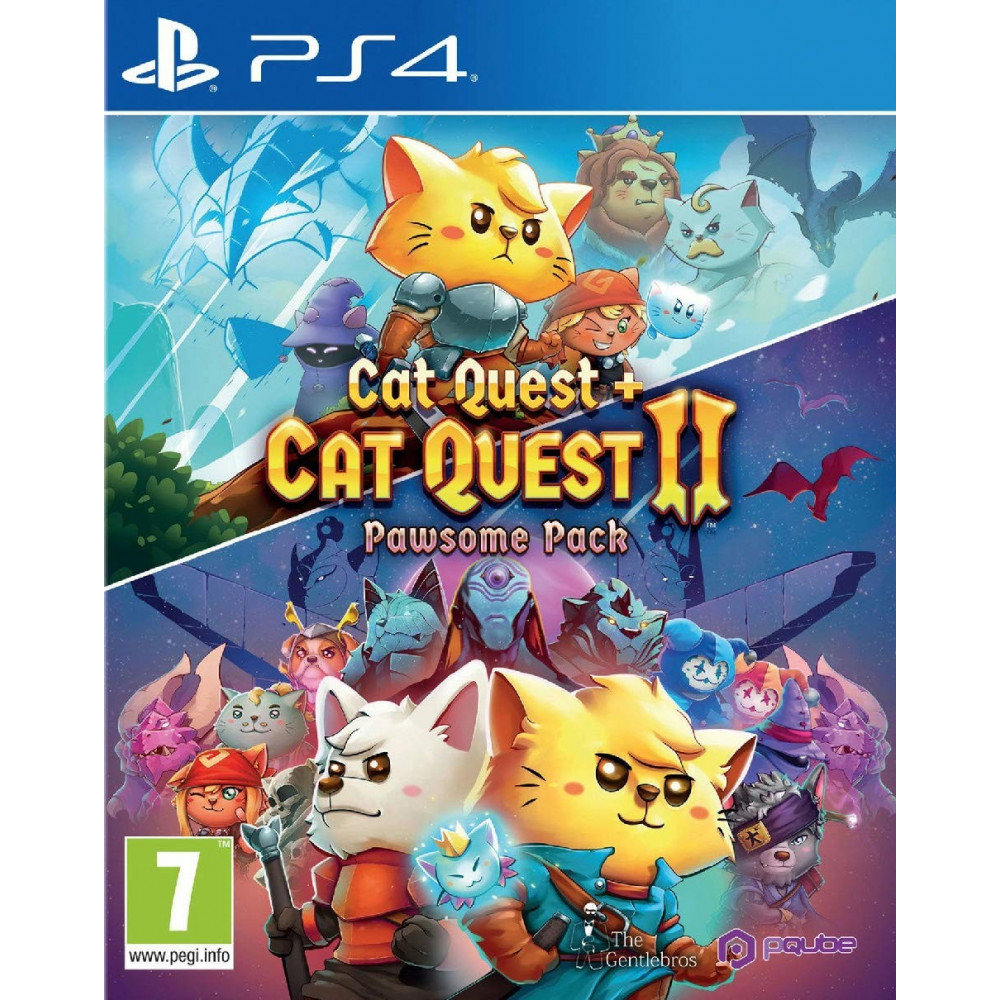 CAT QUEST 1+2 PAWSOME PACK PS4 FR NEW