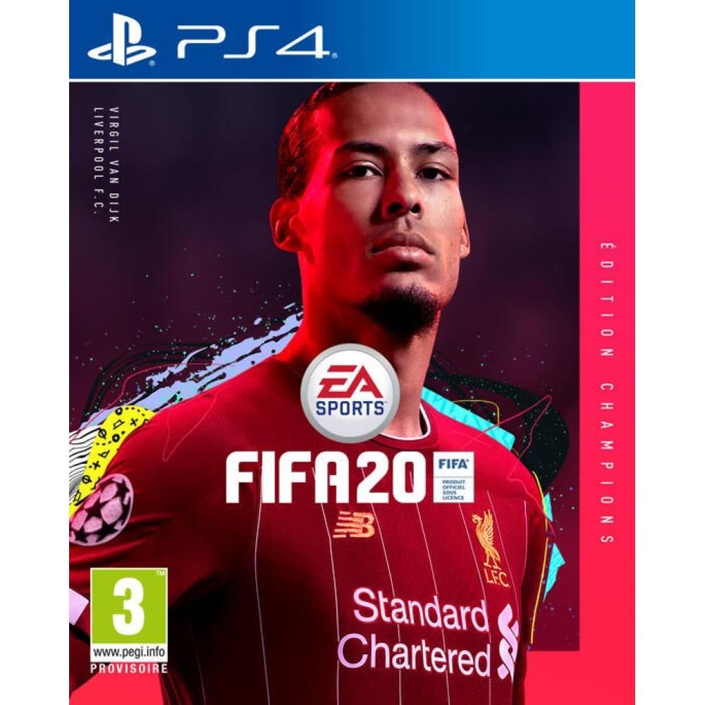 FIFA 20 CHAMPIONS EDITION PS4 ALLEMAND AVEC TEXTE EN FRANCAIS OCCASION