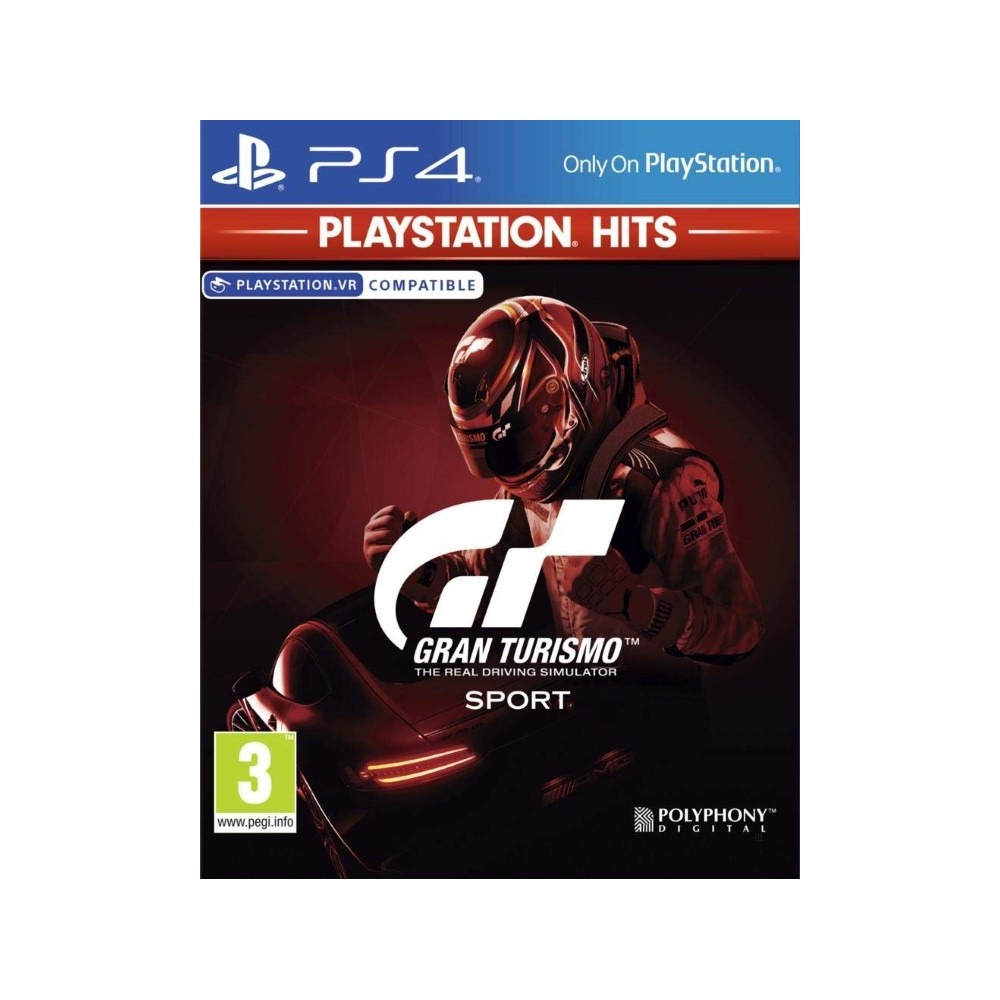 GRAN TURISMO SPORT PLAYSTATION HITS PS4 FR OCCASION