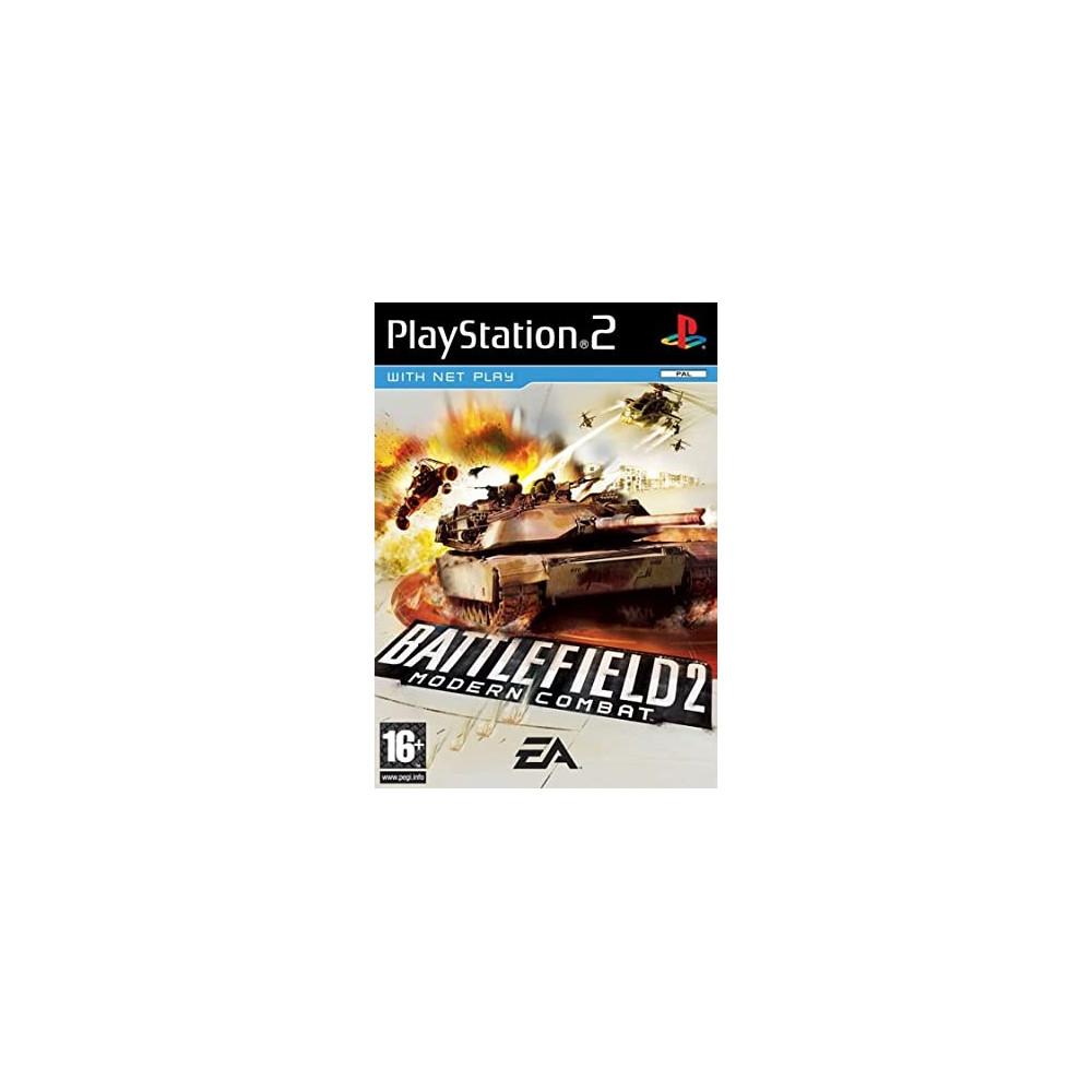 BATTLEFIELD 2 MODERN COMBAT PS2 PAL-FR OCCASION