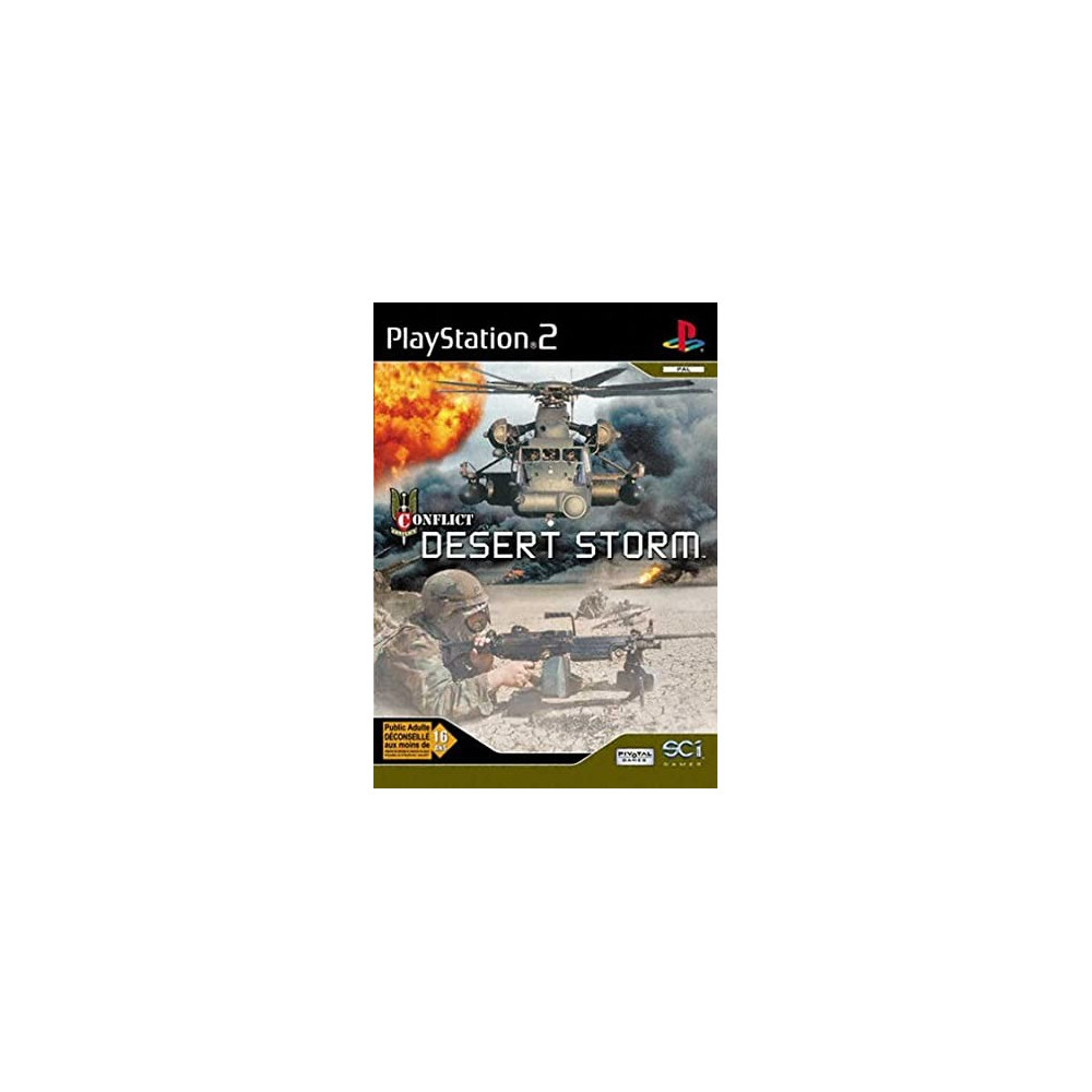 CONFLICT DESERT STORM PS2 PAL-FR OCCASION