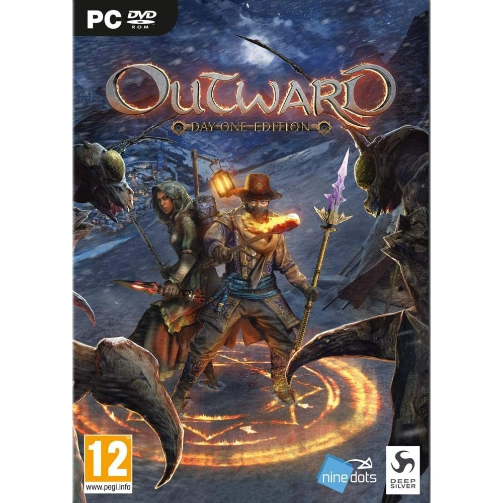 OUTWARD DAY ONE EDITION PC-DVD FR (MULTI-LANGUAGE) NEW FACTORY SEALED (OPEN WORLD RPG)