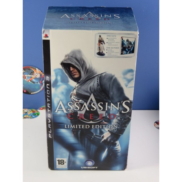 ASSASSIN S CREED LIMITED EDITION PS3 EURO NEW/NEUF (FIGURINE ALTAIR - NEW)