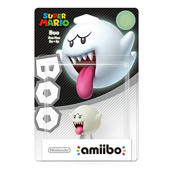 FIGURINE AMIIBO BOO SUPER MARIO FR NEW