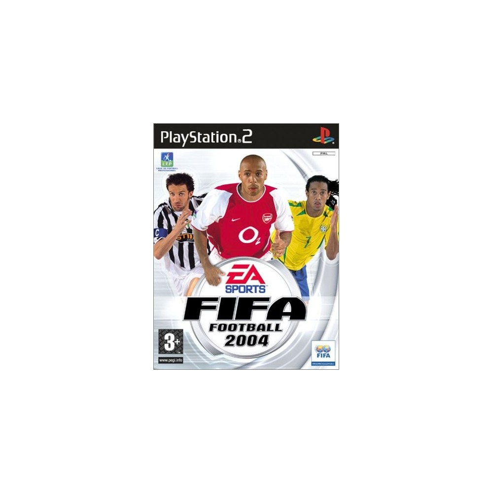 FIFA 2004 PS2 PAL-FR OCCASION