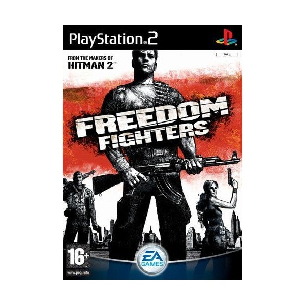 FREEDOM FIGHTERS PS2 PAL-FR OCCASION