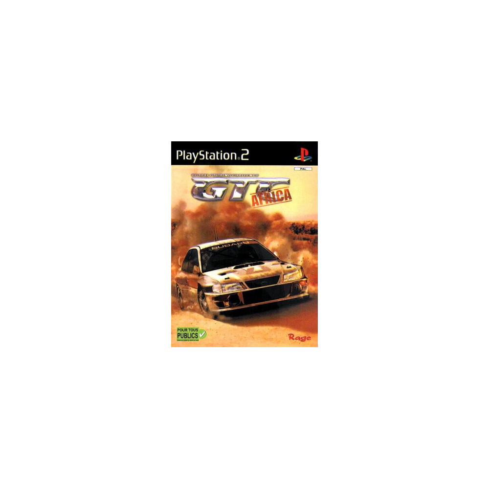 GTC AFRICA PS2 PAL-FR OCCASION