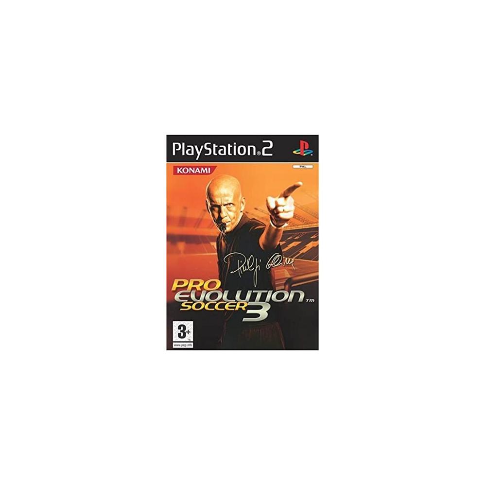 PRO EVOLUTION SOCCER 3 PS2 PAL-FR OCCASION