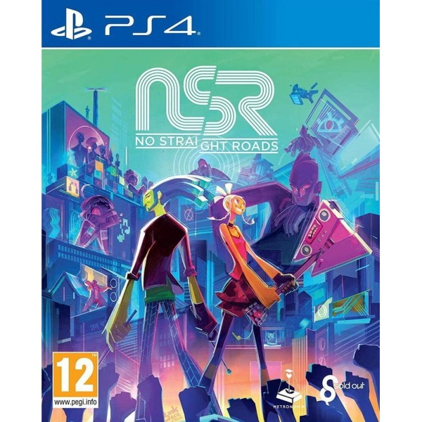 NO STRAIGHT ROADS PS4 FR NEW FACTORY SEALED
