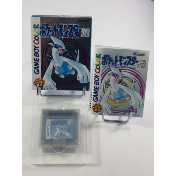 POCKET MONSTERS (POKEMON) SILVER VERSION GAMEBOY COLOR (GBC) (VERY GOOD CONDITION)
