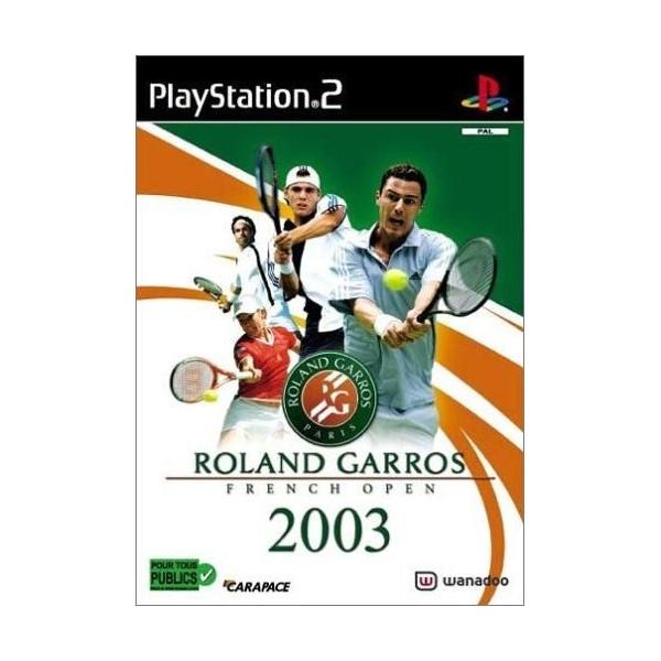 ROLAND GARROS 2003 PS2 PAL-FR OCCASION